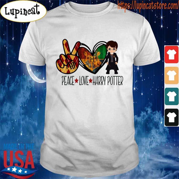 Peace Love Harry Potter 2021 shirt