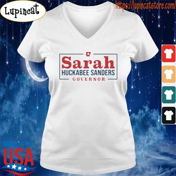Sarah Huckabee Sanders Governor s V-neck