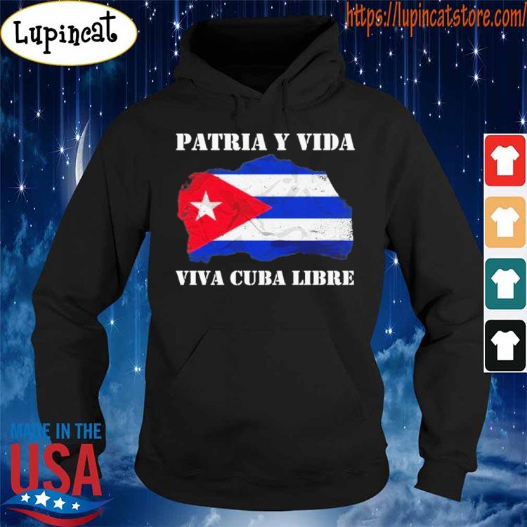 Cuba Hoodie Sweatshirt Distressed Cuban Flag