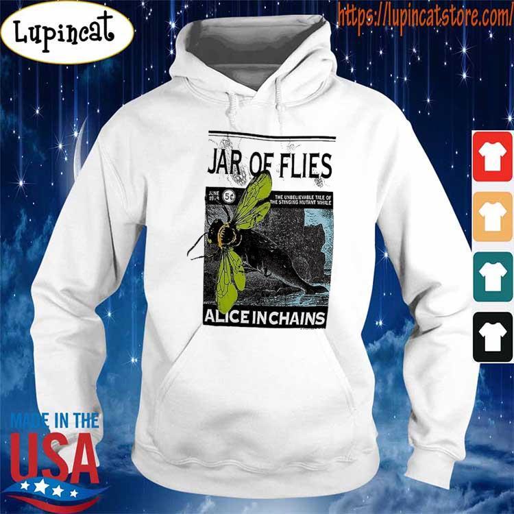 Vintage Alice In Chains Jar of Flies Concert tour 1994 T-Shirt Hoodie