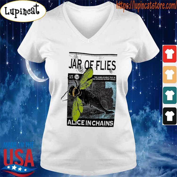 Vintage Alice In Chains Jar of Flies Concert tour 1994 T-Shirt V-neck