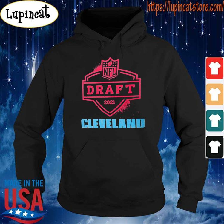 2021 NFL Draft Cleveland Nike Black Logo T-Shirt