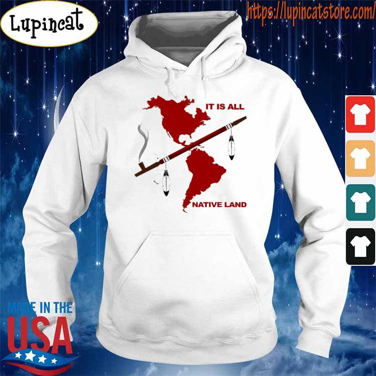 It is all Native Land red s Hoodie