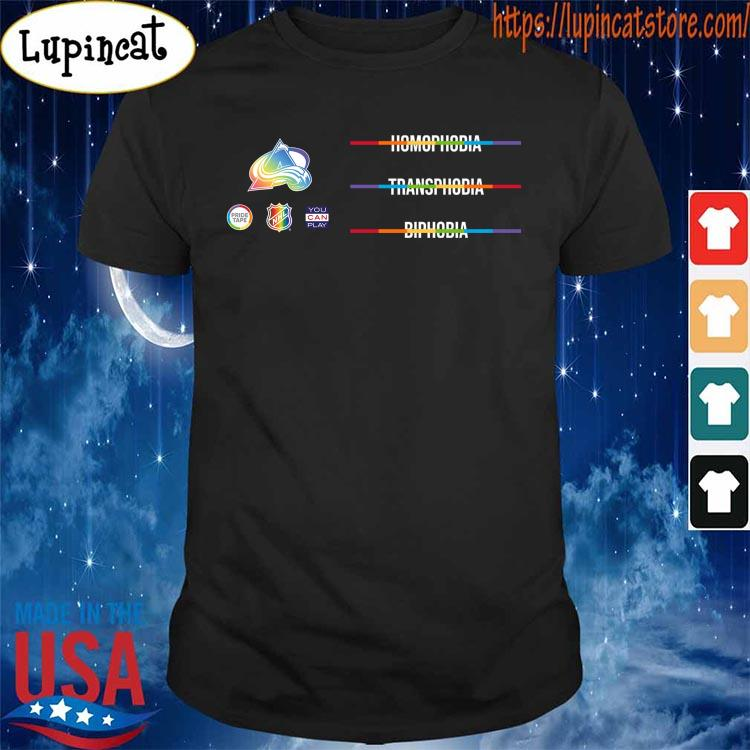 LGBTQ Against Homophobia Transphobia and Biphobia is observed around the world on May 17- We join the NHL s Shirt