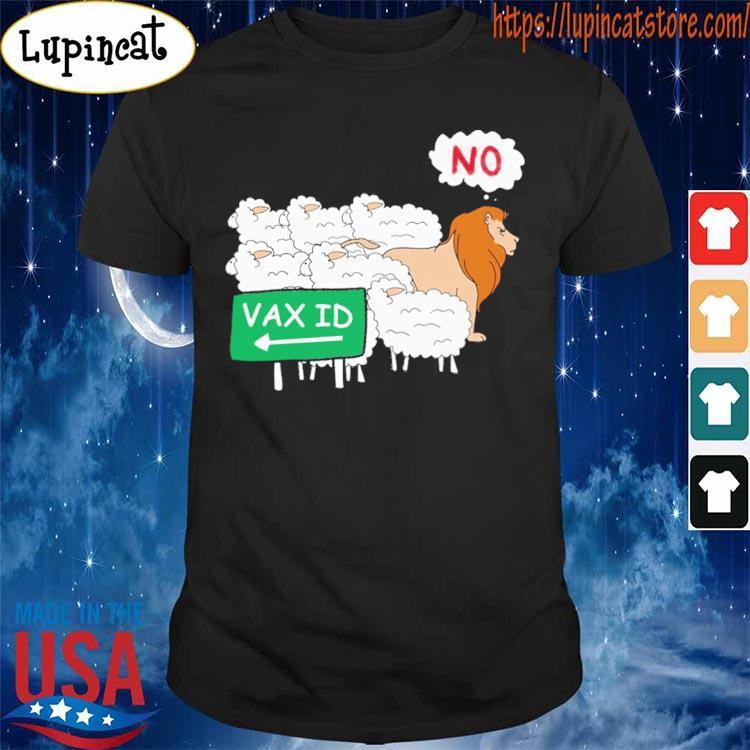 Llama and Lion No Vax ID s Shirt