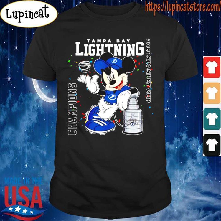 Official Nikita Kucherov Mickey Mouse Tampa bay lightning ...
