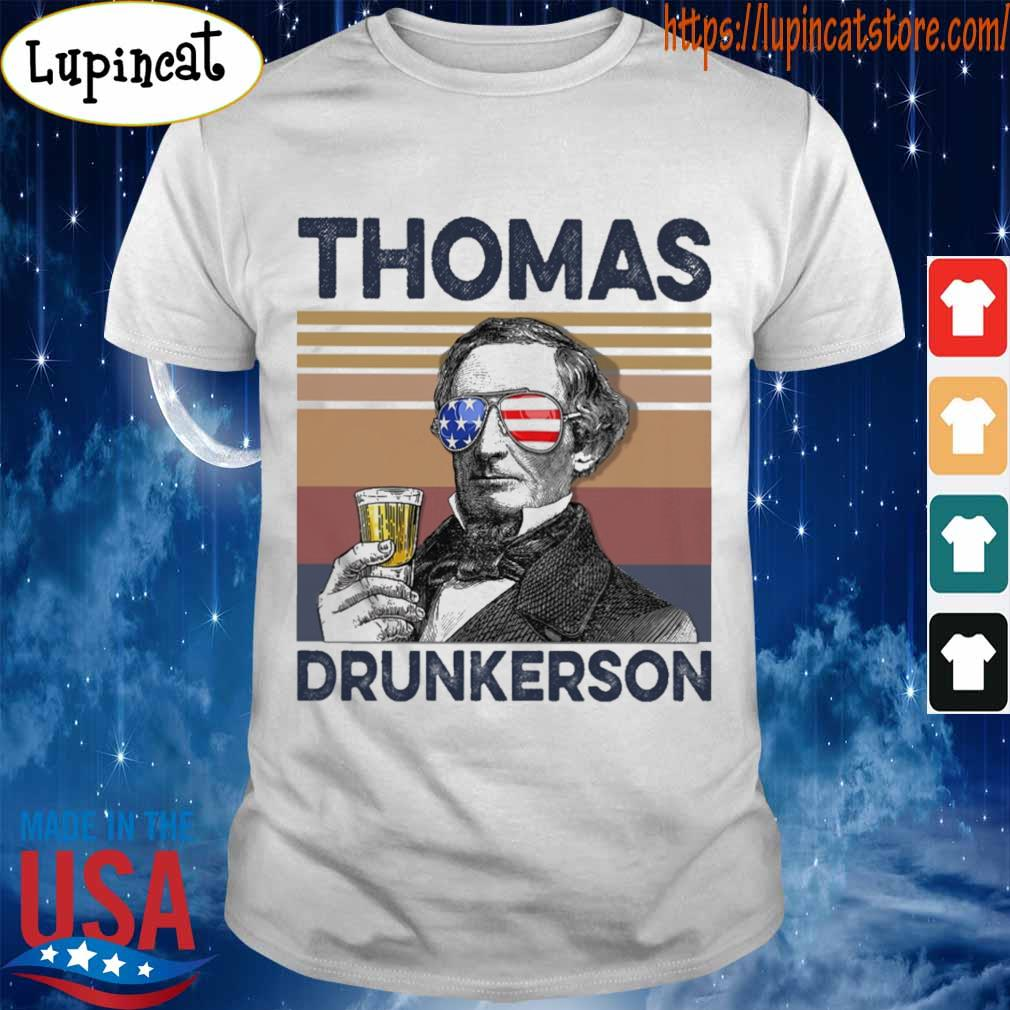 Thomas Drunkerson Drink Beer the 4th of July vintage shirt