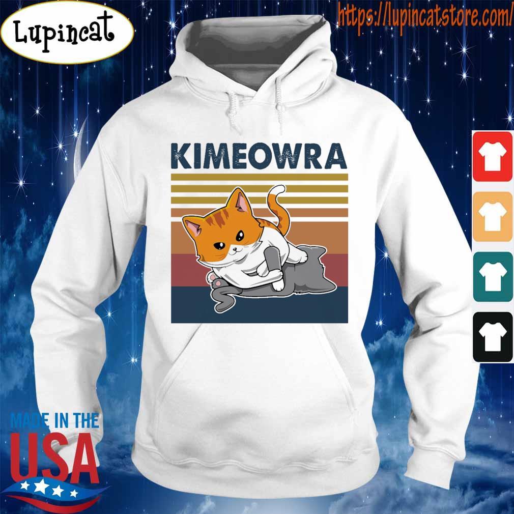 Jiu Jitsu Kimura Kimeowra Cats Shirts Hoodie