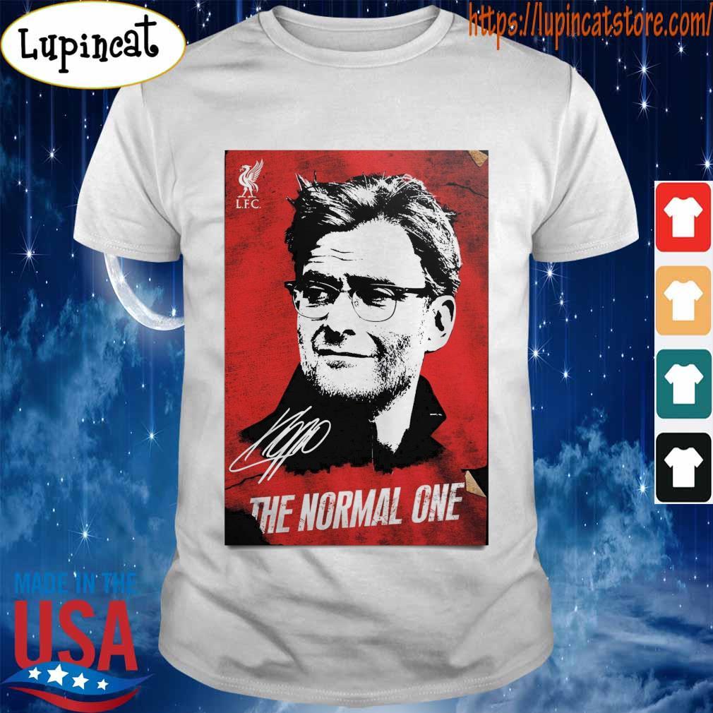 Jurgen Klopp The normal one legend signature 2020 shirt