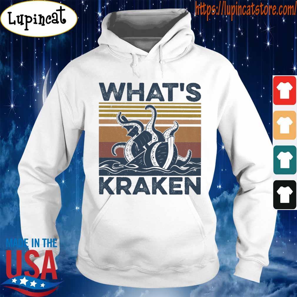What's Kraken vintage s Hoodie