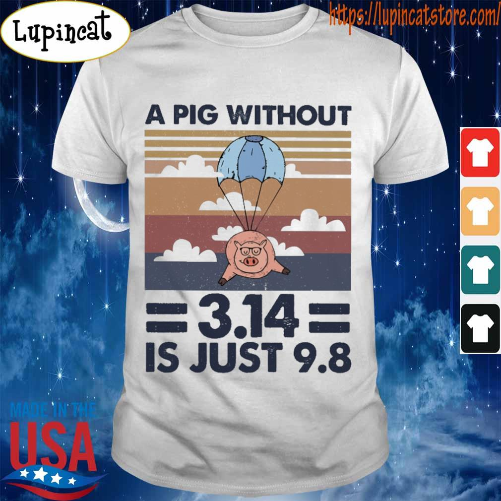 A pig without 3.14 is just 9.8 vintage shirt