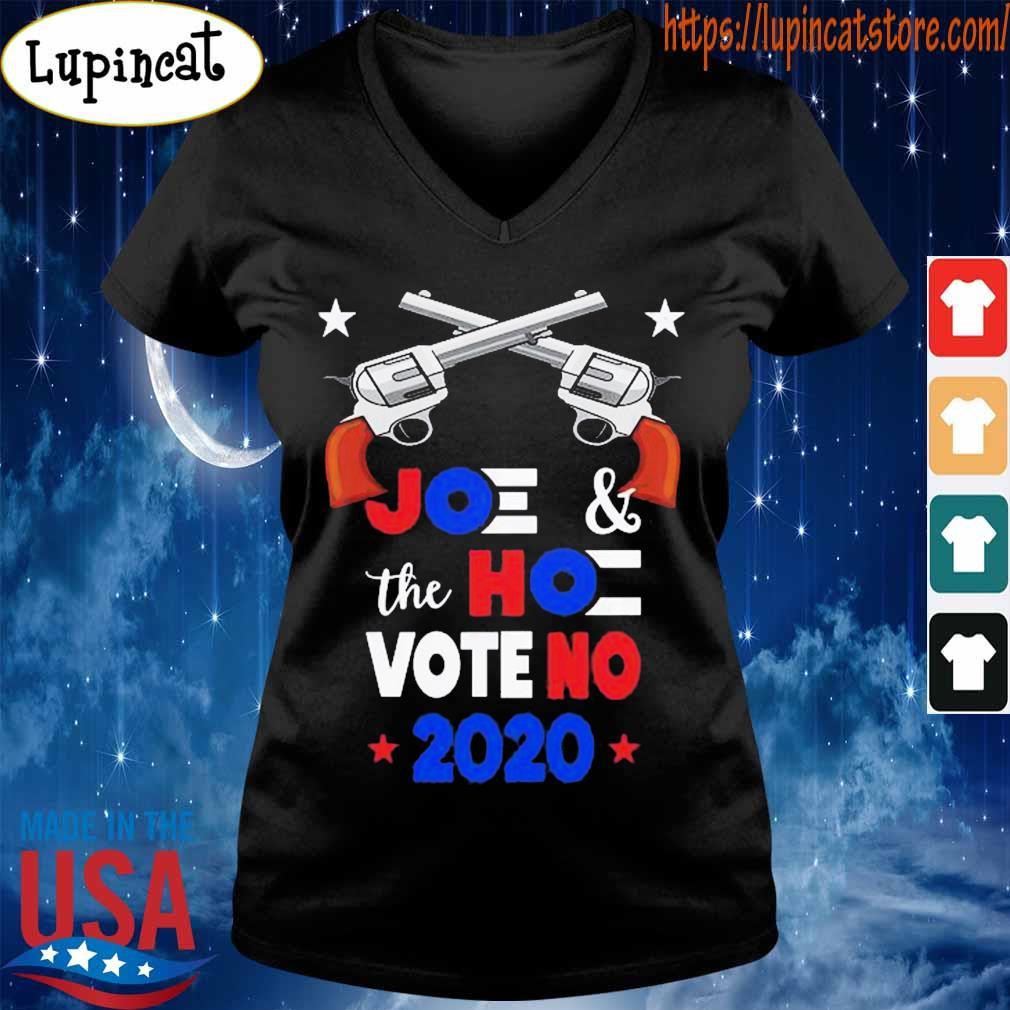 Guns Joe and the Hoe Vote No 2020 s V-neck