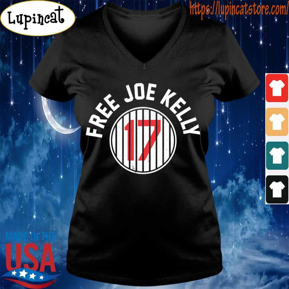 Los Angeles Dodgers 17 Free Joe Kelly s V-neck