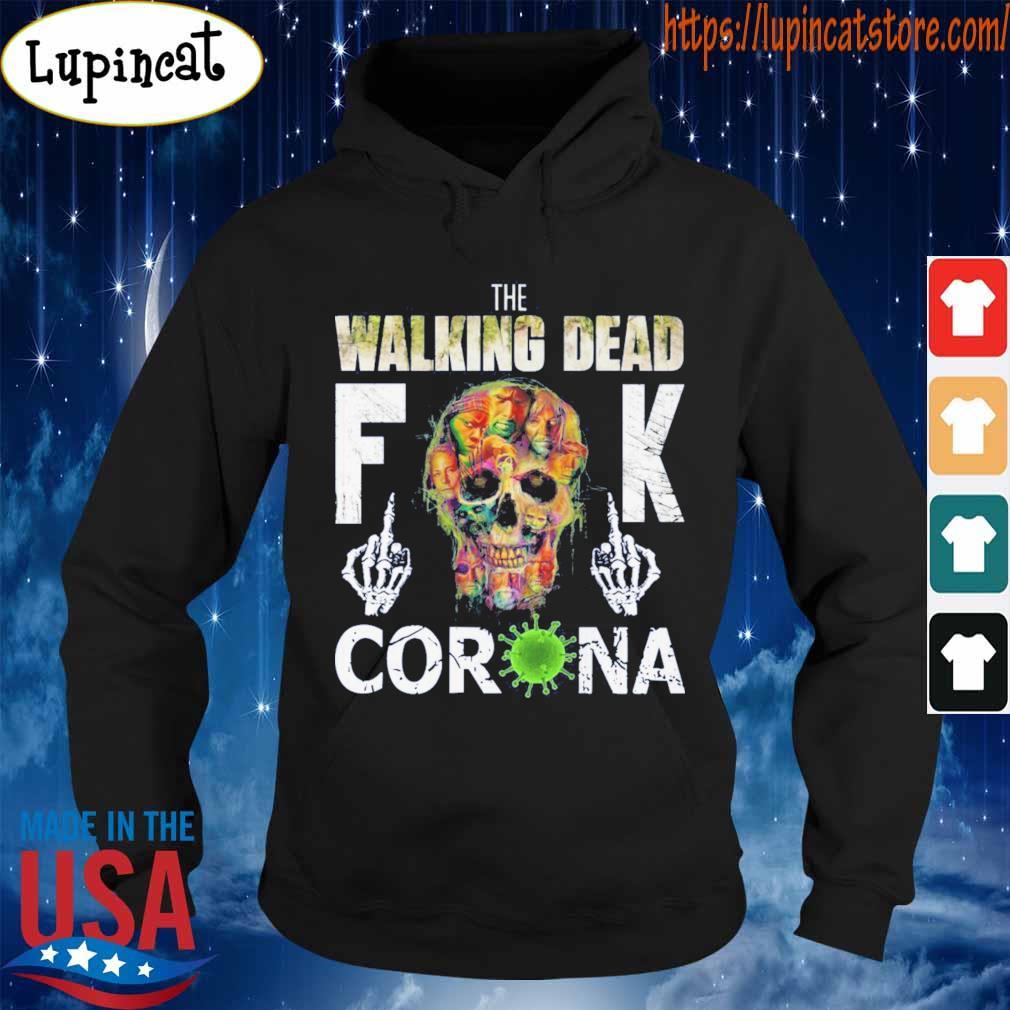 The Walking Dead skull fuck Corona s Hoodie