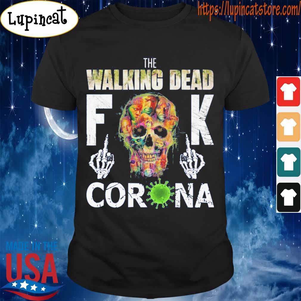 The Walking Dead skull fuck Corona shirt