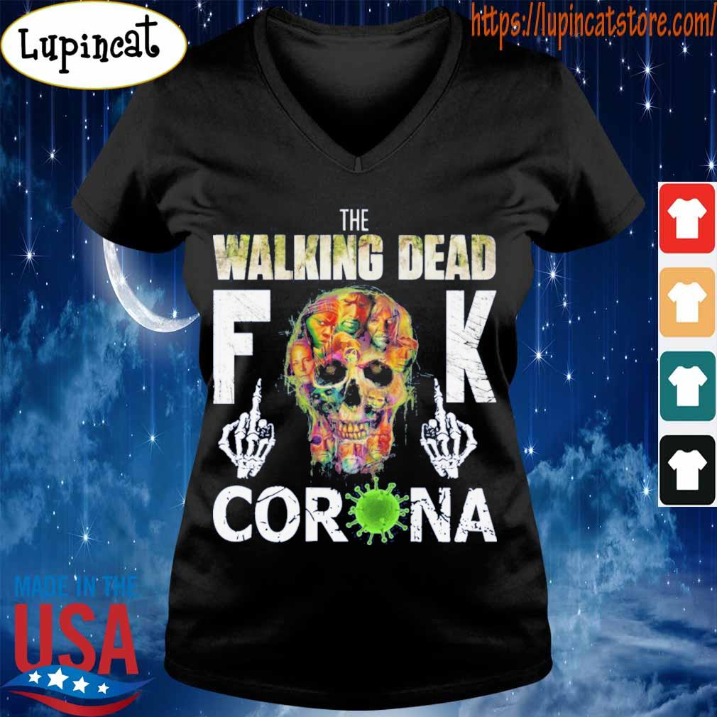The Walking Dead skull fuck Corona s V-neck