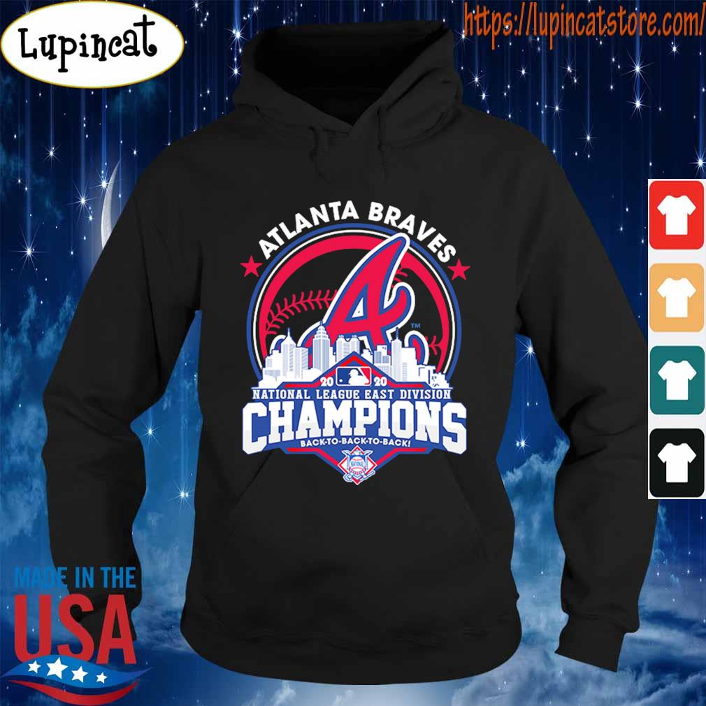 Atlanta Braves National League east division Champions 2020 s Hoodie
