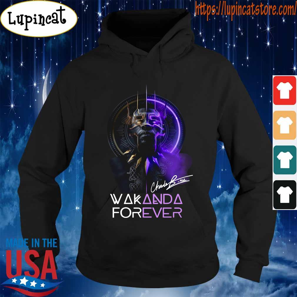 Chadwick Boseman Black Panther Wakanda king forever legend never die s Hoodie
