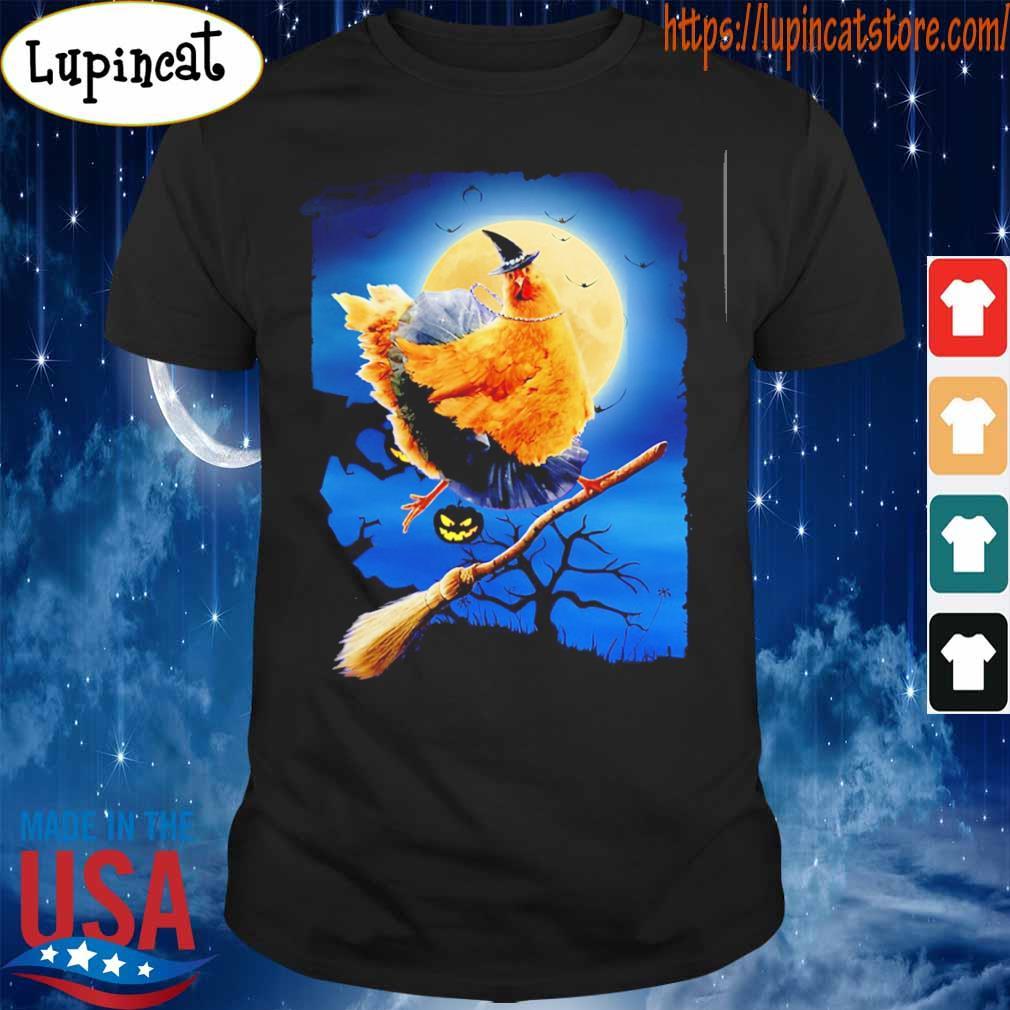 Chicken witch Night Halloween shirt