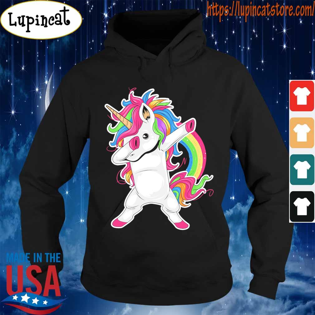 Cute Unicorn Dabbing pride s Hoodie