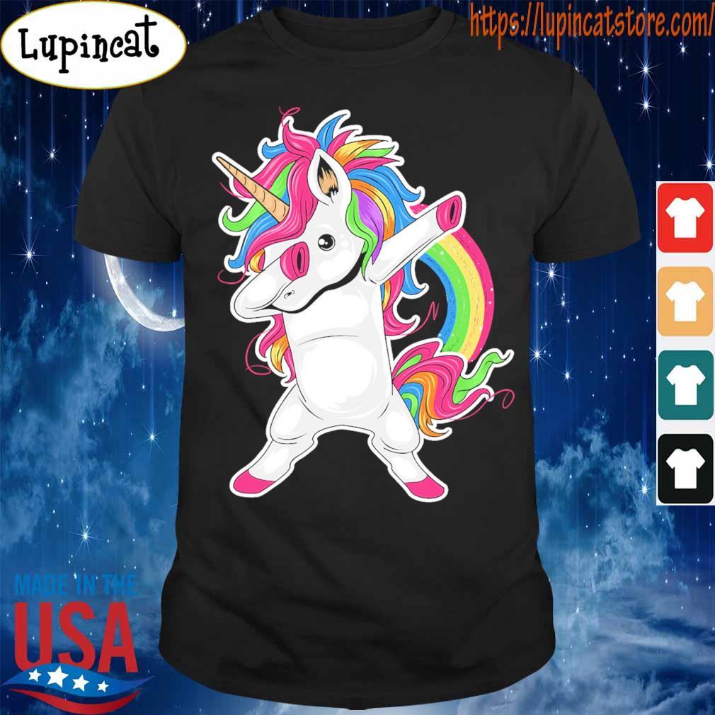 Cute Unicorn Dabbing pride shirt
