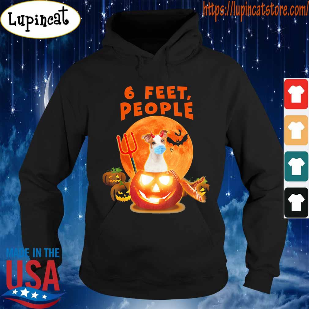 Dog Pumpkin 6 feet People Halloween s Hoodie