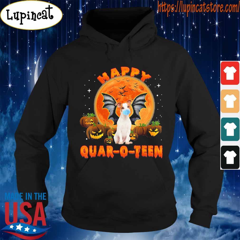 Dog Pumpkin Happy Quar-O-Teen Halloween s Hoodie