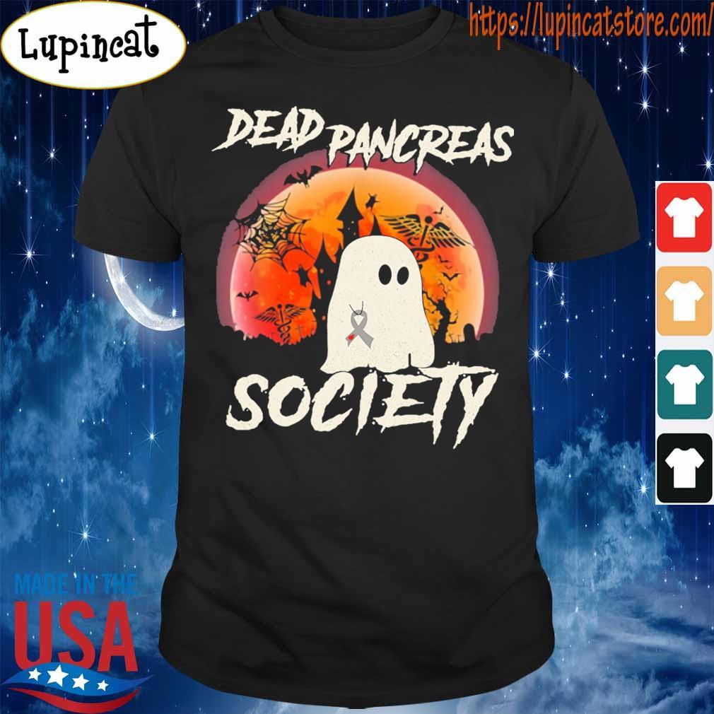 Ghost Nurse Dead pancreas society Halloween shirt
