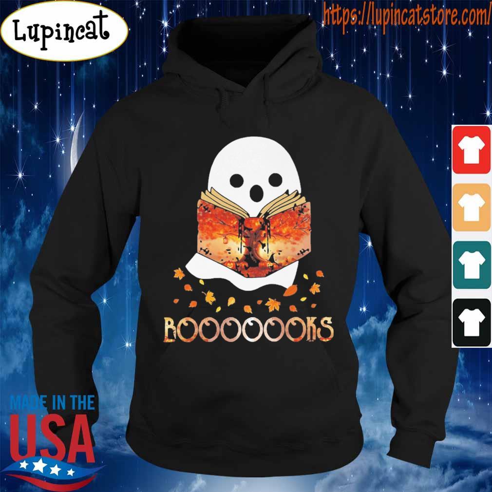 Ghost reading Boooooks Halloween s Hoodie