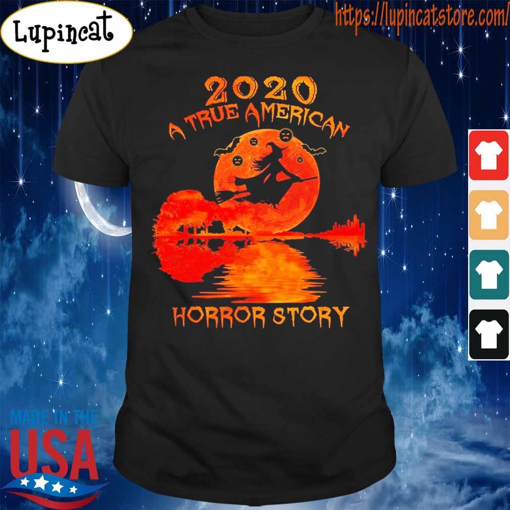 Guitar Witch Girl 2020 a true American Horror story Halloween shirt