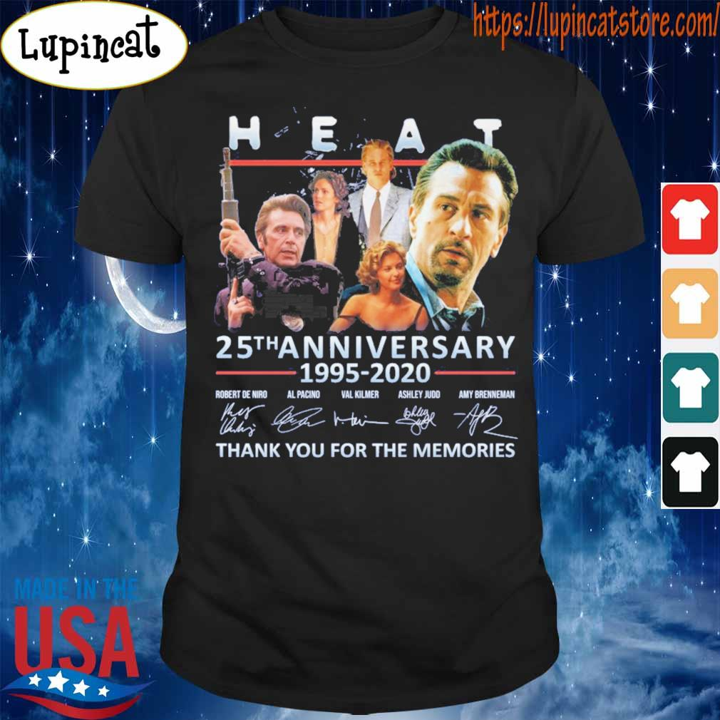 Heat 25th anniversary 1995 2020 thank you for the memories signatures shirt