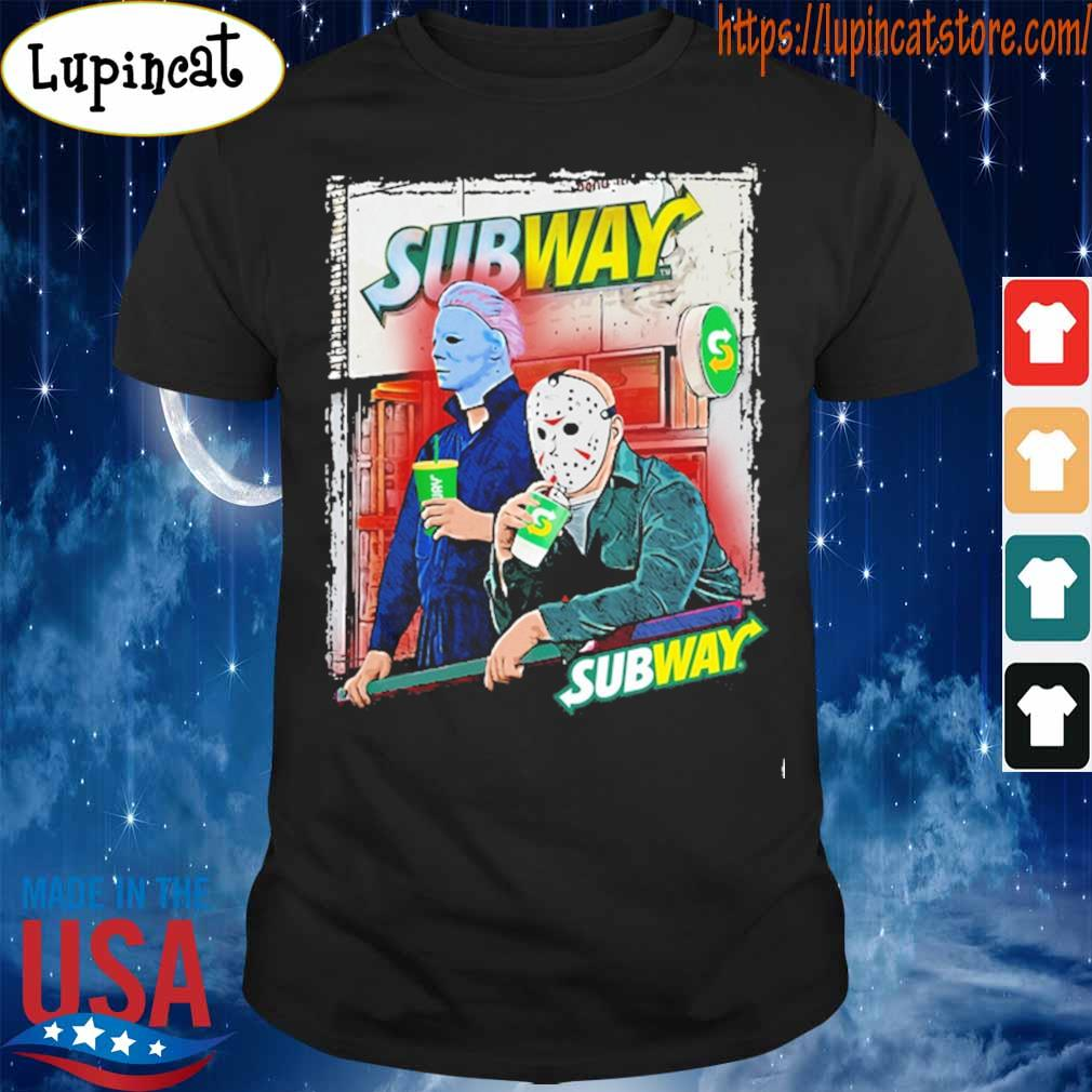 Jason Voorhees and Michael Myers drink Subway shirt