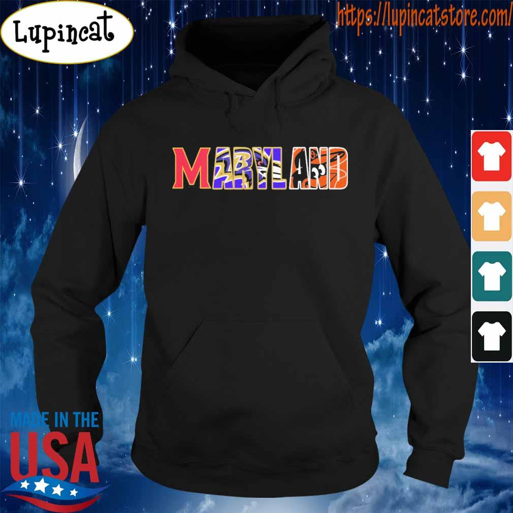 Maryland Baltimore Ravens Baltimore Orioles s Hoodie