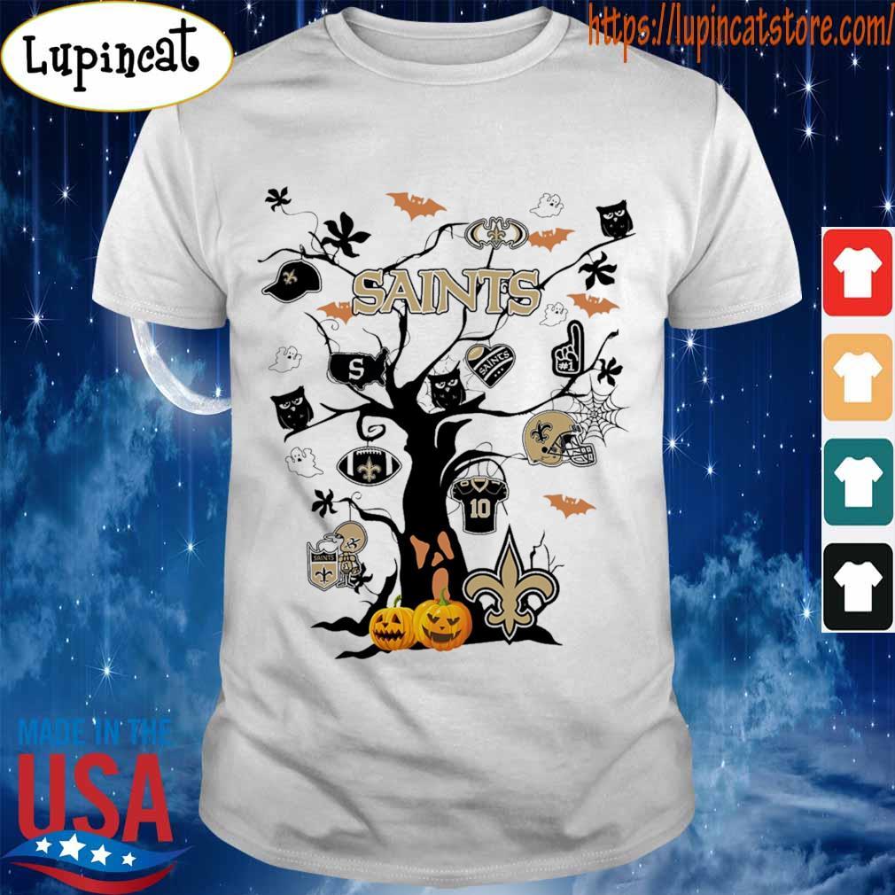 New Orleans Saints Tree Halloween 2020 shirt