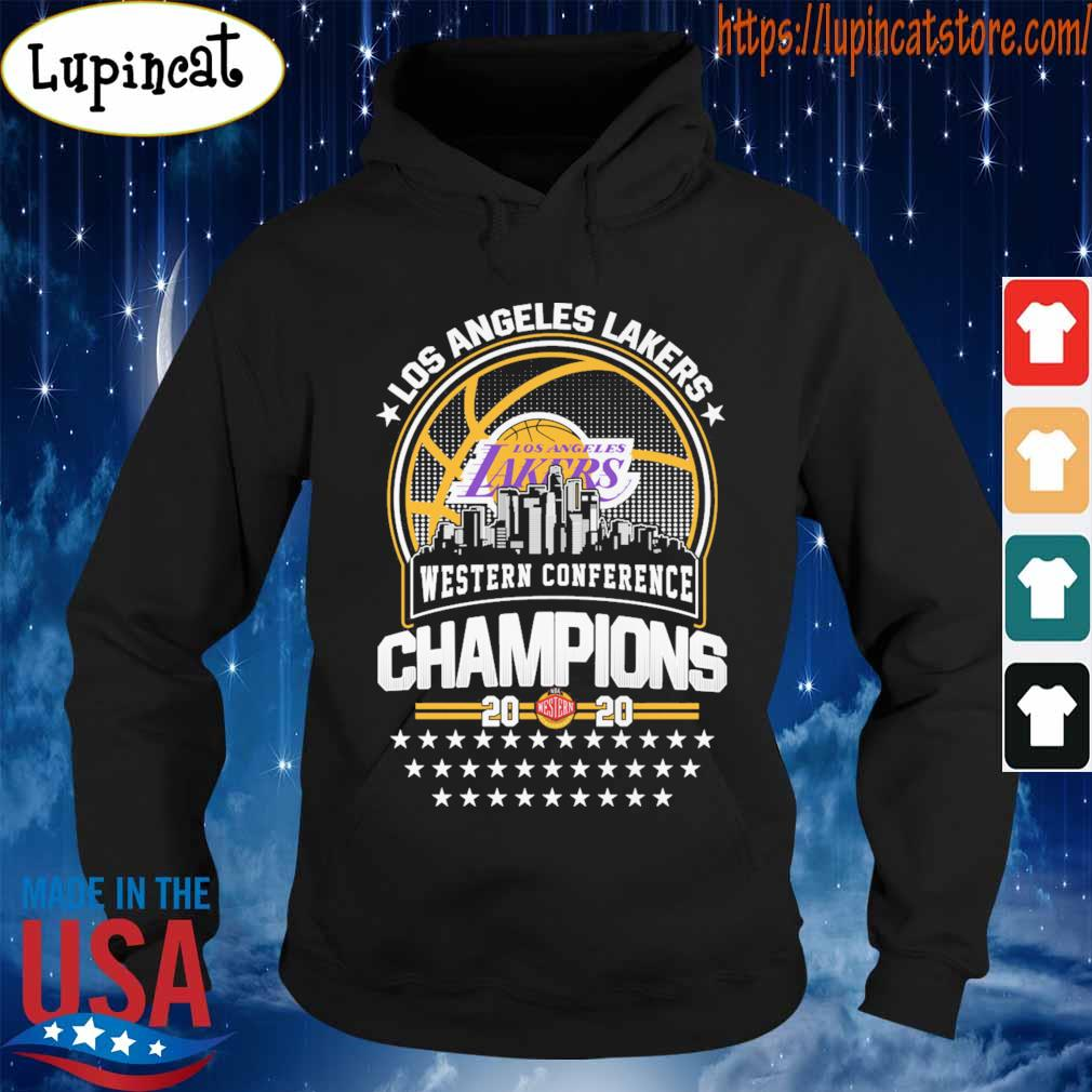Official Los Angeles Lakers Western Conference Champions 2020 NBA Finals s Hoodie