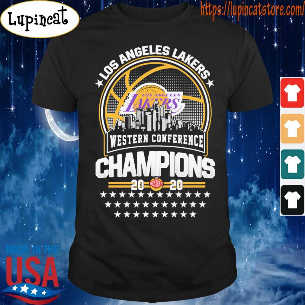 Official Los Angeles Lakers Western Conference Champions 2020 NBA Finals shirt