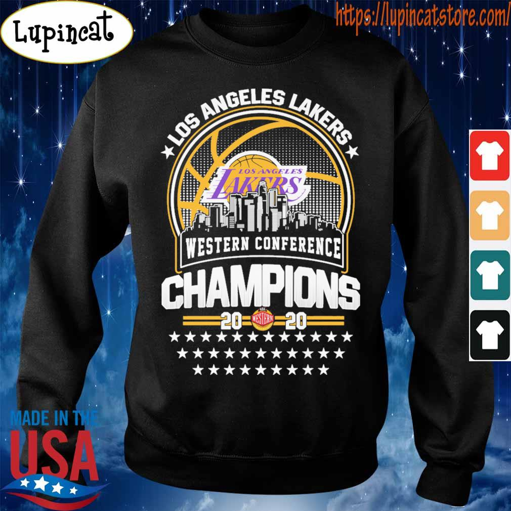 Official Los Angeles Lakers Western Conference Champions 2020 NBA Finals s Sweatshirt