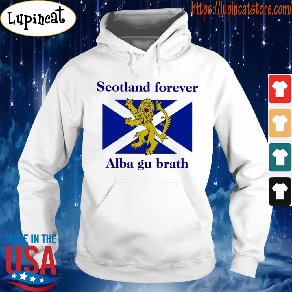 Scotland forever Alba gu brath flag s Hoodie