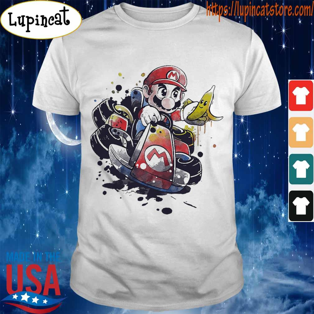 Super Mario drawings shirt