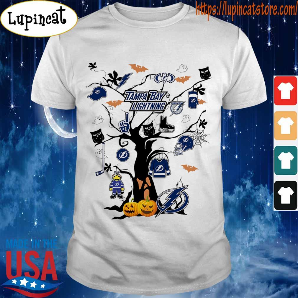 Tampa bay Lightning Tree Halloween 2020 shirt