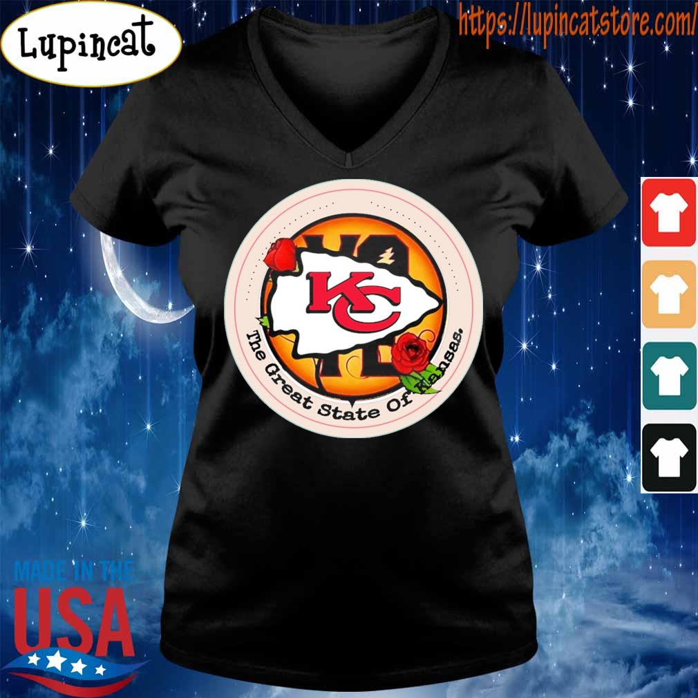 Vote the great State of Kansas City Chiefs s V-neck
