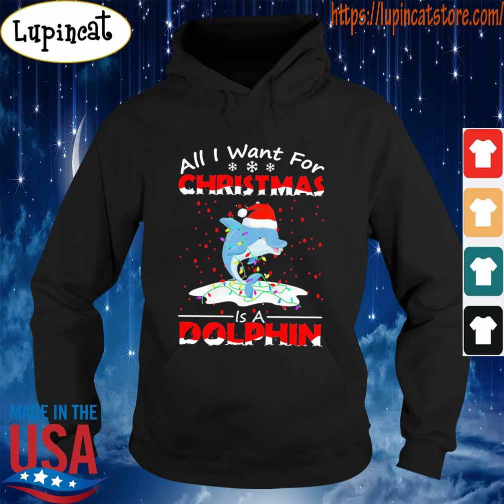All I want for Christmas is a Dolphin s Hoodie