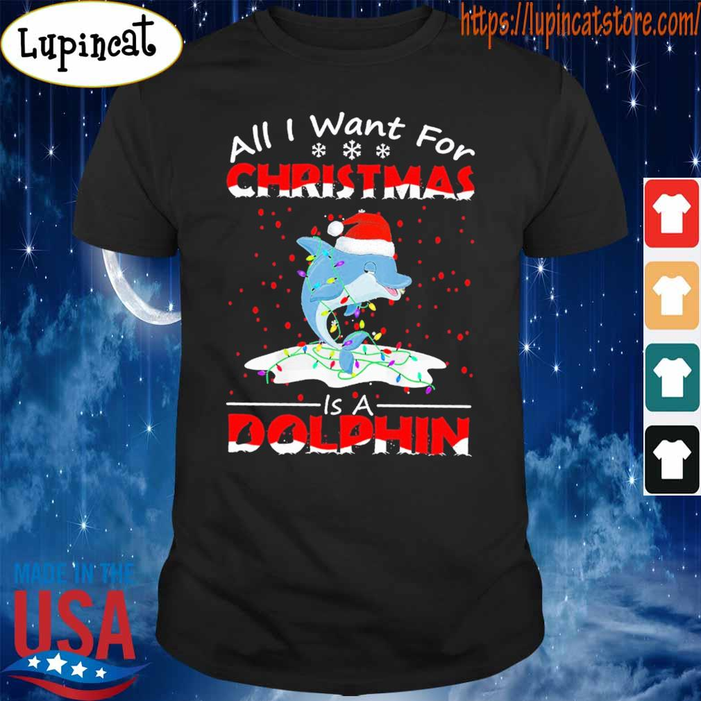 All I want for Christmas is a Dolphin shirt