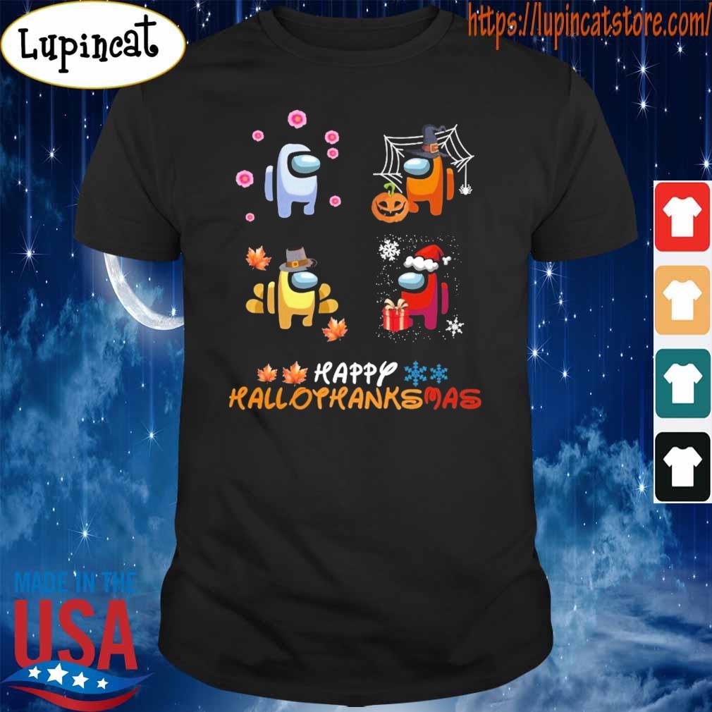 Among Us Happy Hallothanksmas shirt