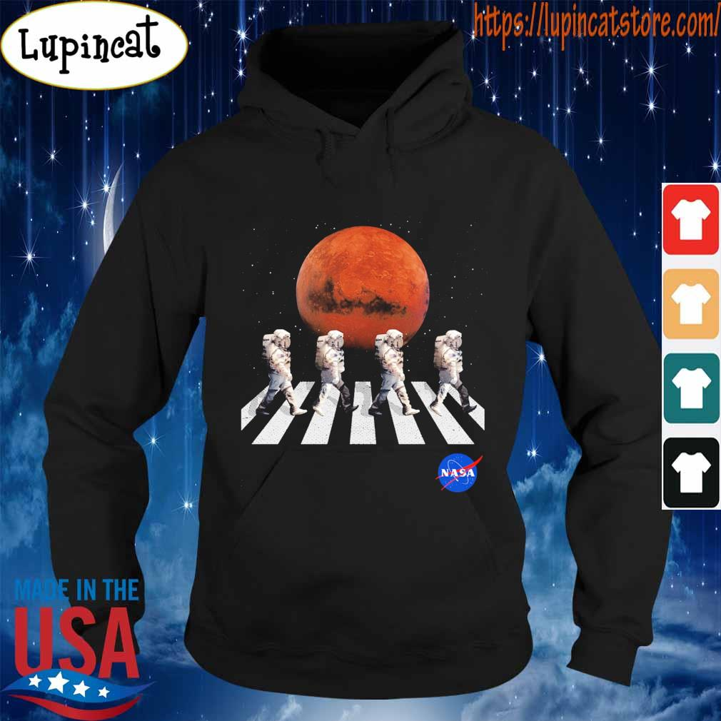 Astronaut Walking Nasa moon road s Hoodie