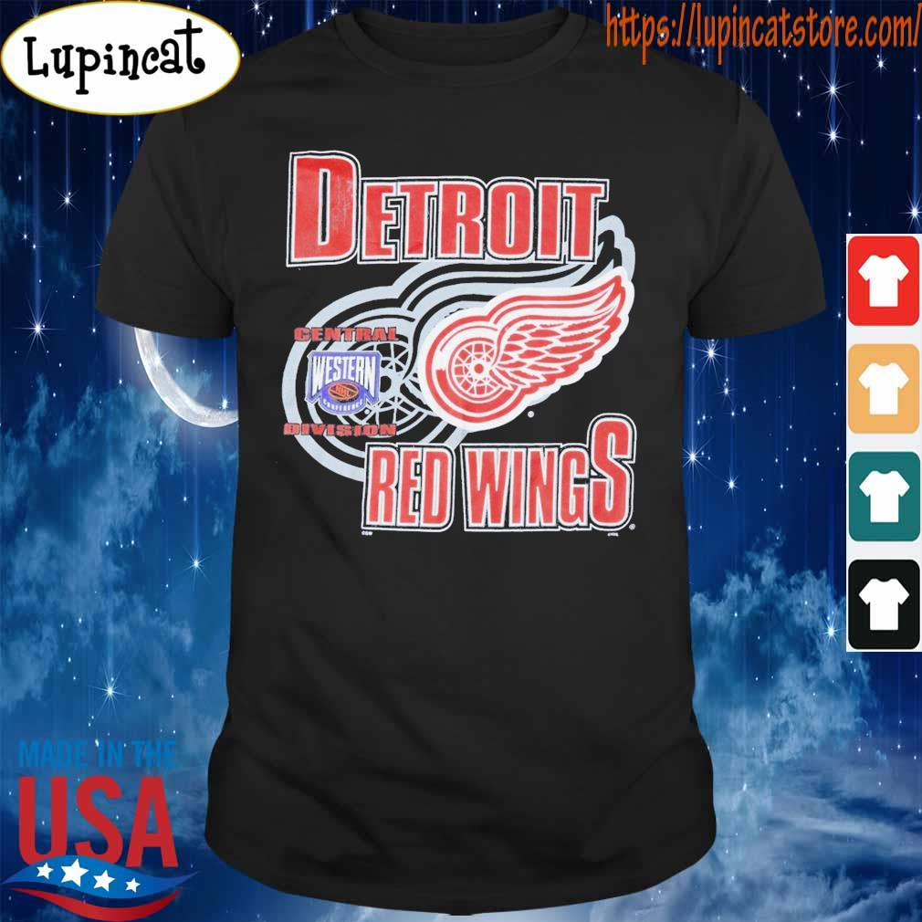Central Division Detroit Red Wings shirt