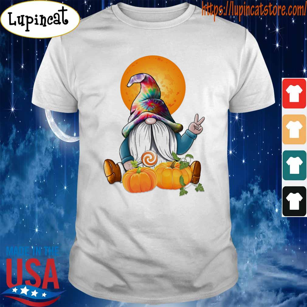 Gnome pumpkin moon shirt