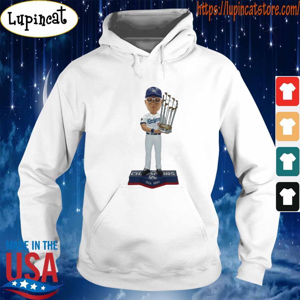 Juilo Urias Los Angeles Dodgers 2020 World Series Champions s Hoodie