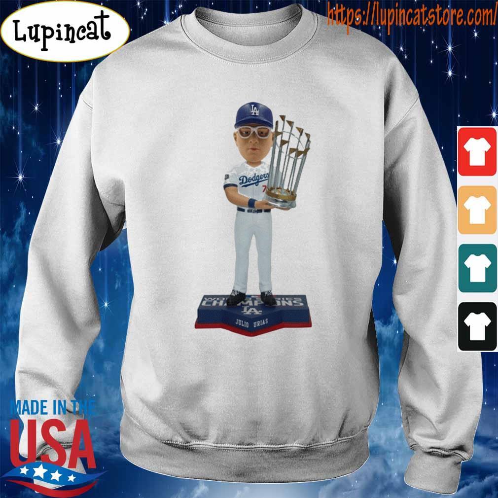 Juilo Urias Los Angeles Dodgers 2020 World Series Champions s Sweatshirt