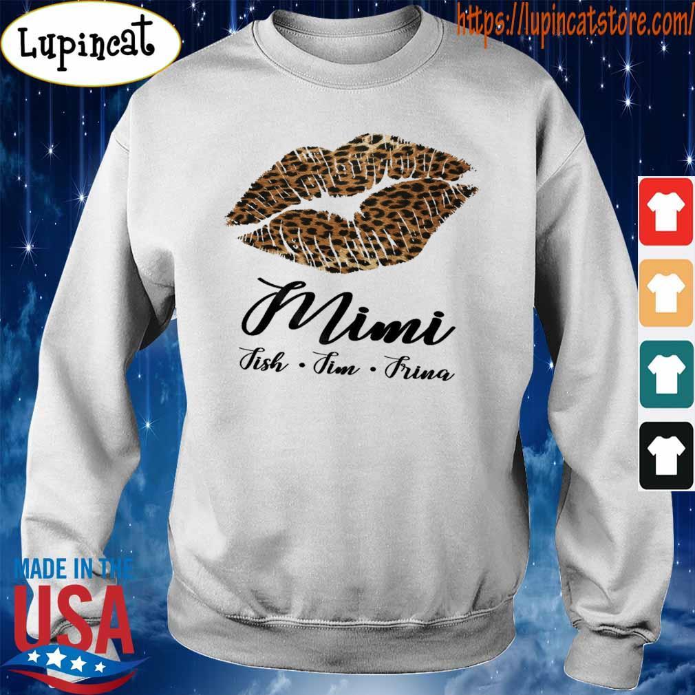 Lips Fmimi Fish Fim Frina s Sweatshirt